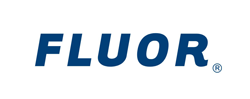 DLO office moving experts - fluor logo
