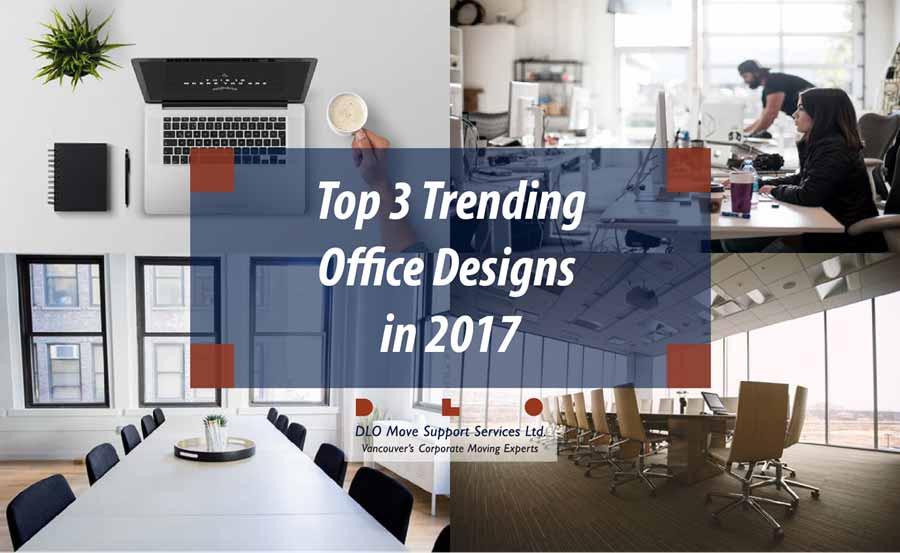 Top 3 Trending Office Designs in 2017 banner