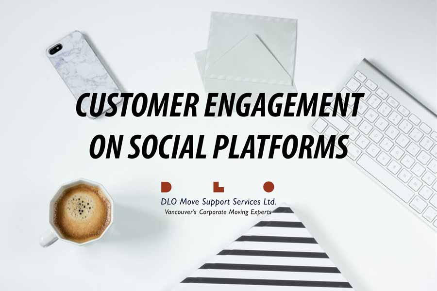 customer engagement on social platforms banner