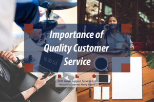 Importance of Quality Customer Service DLO collage